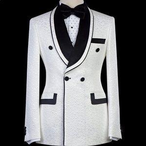 Other - Men's White Black Tuxedo + Pants